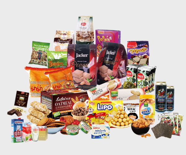 food bagg made by laminated aluminum foil/laminating film rolls