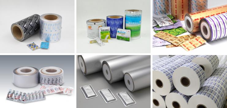 blister foil and other pharmaceutical pacckiaging materials