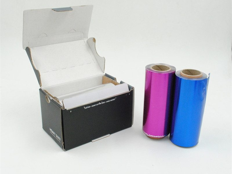 2 pcs hairdressing foil with box
