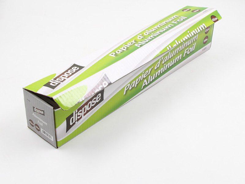 450mm heavy duty aluminium foil
