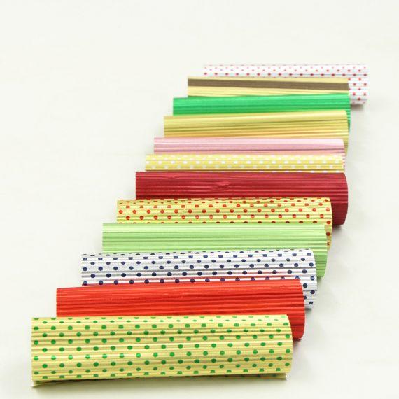 Corrugated chocolate foil rolls