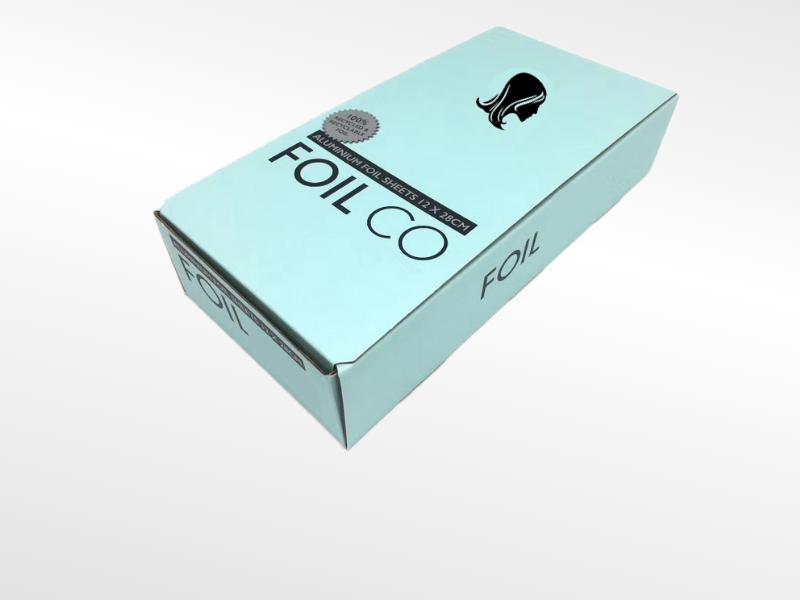 Packing box of Pre-cut hair foil sheets