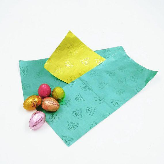 pure aluminium chocolate foil wrapper