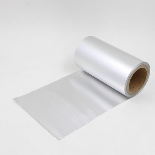 Unprinted blister foil 1